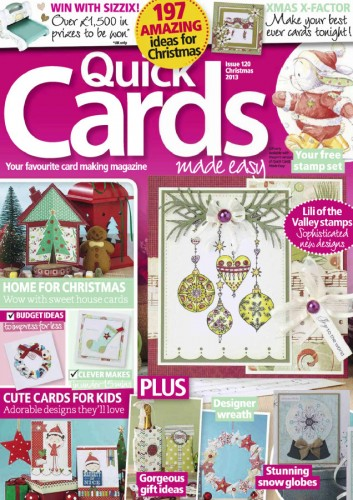 1384035698 quick cards made easy christmas 2013 مجله کارت پستال