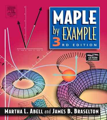Maple By Example Abell Martha L EB9780080496375 خودآموز میپل