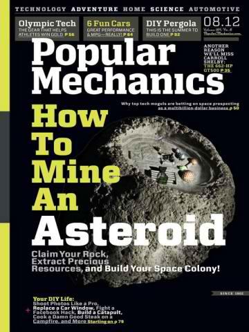 مجله Popular Mechanics آگوست 2012