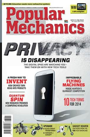 popular mechanics south africa مجله popular mechanics  مارس 2014